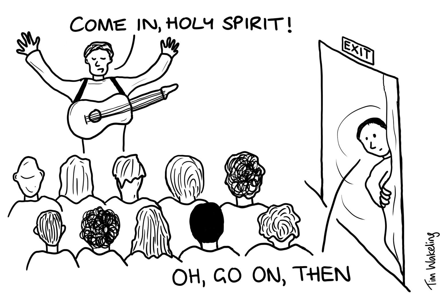 Come in, Holy Spirit
