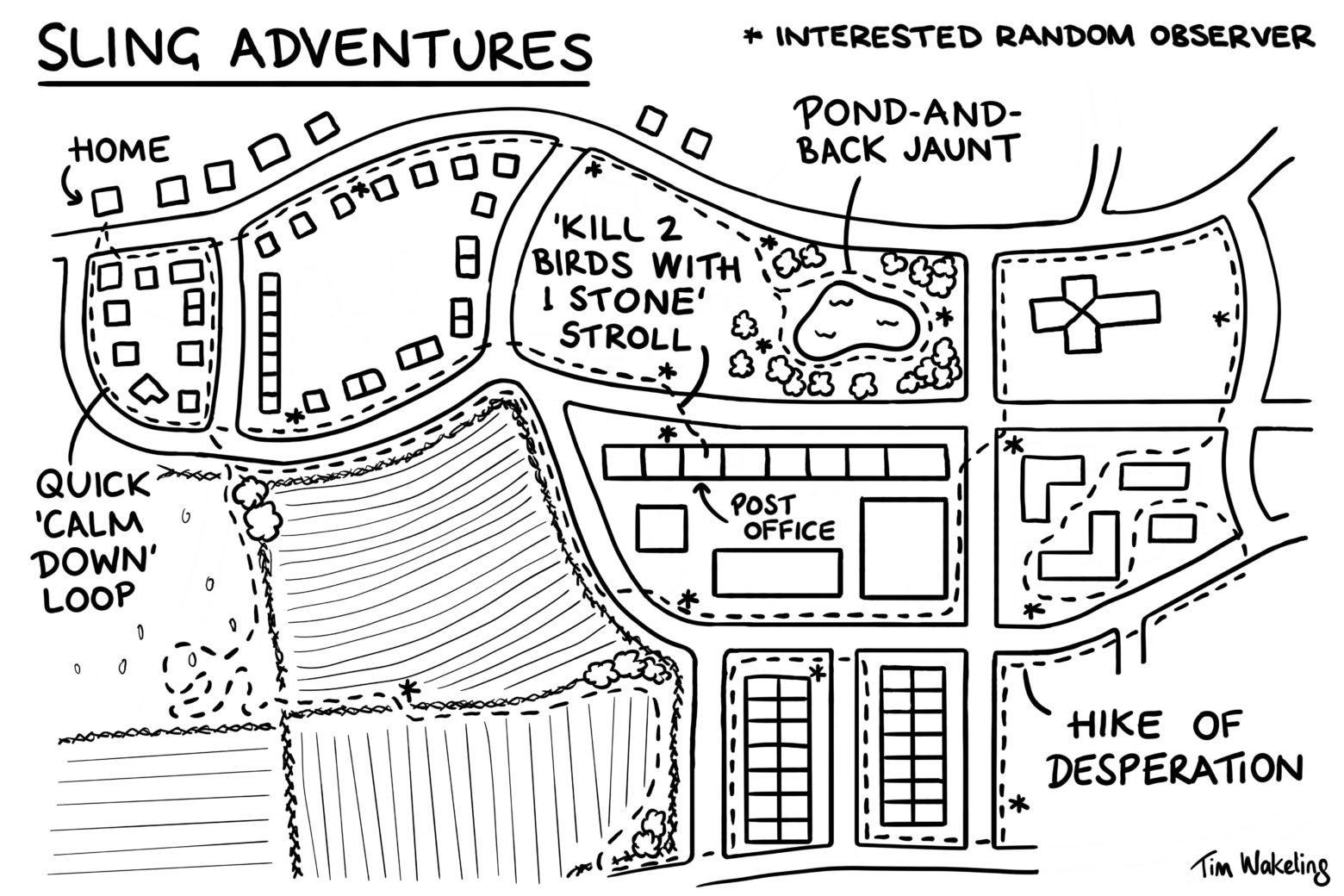 Sling adventures