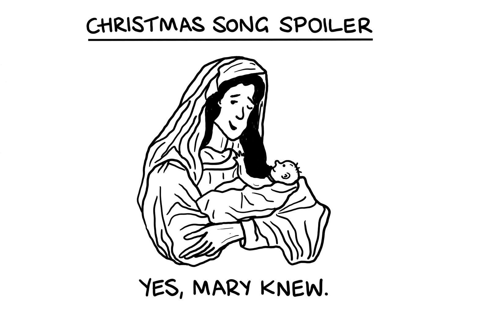 Christmas song spoiler